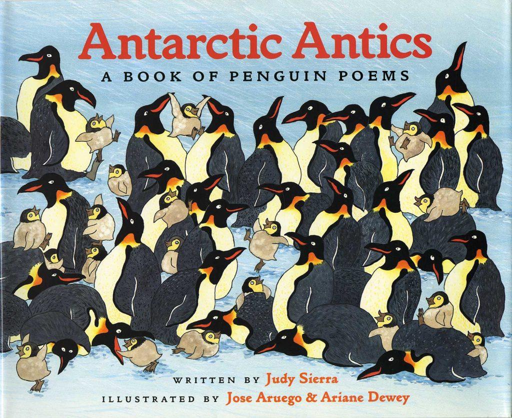 Antarctic Antics book cover