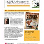 The Kerlan Collection Newsletter, Spring 2020
