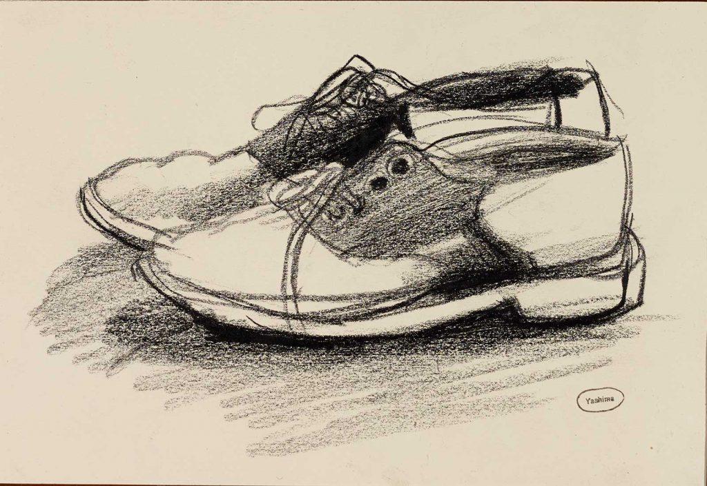 Shoes by Taro Yashima
