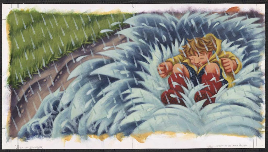 """Written by Mary Lynn Ray, Illustrated by Lauren Stringer. New York, Harcourt, 2000. 10.6"""" x 9.4"""", Kerlan Collection, Children's Literature Research Collections, University of Minnesota Libraries."""